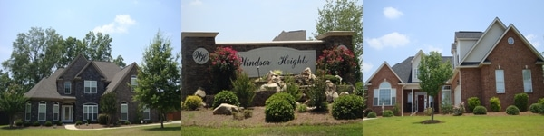Subdivisions in Bonaire GA 31005 - Windsor Heights Subdivision