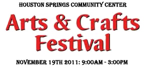4th Annual Houston Springs Arts and Craft Show