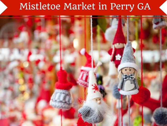 Mistletoe Market in Perry GA