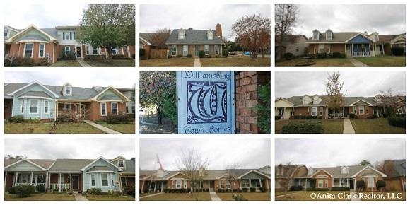 Williamsburg Town Homes Subdivision in Warner Robins GA 31088