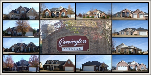 Carrington Estates Subdivision in Byron GA 31008