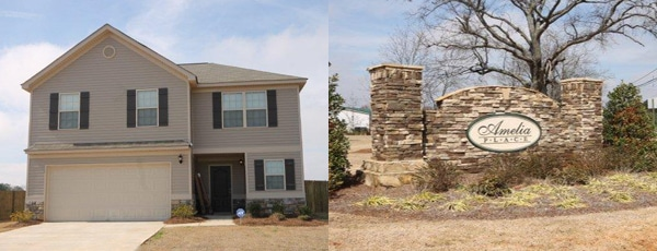 Just SOLD in Byron GA - Amelia Place Subdivision