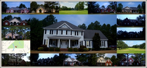 North Hamptons Subdivision in Perry GA 31069