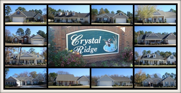 Crystal Ridge Subdivision in Byron Georgia  31008