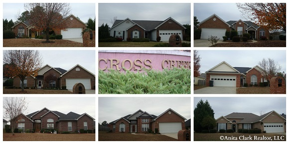 Cross Creek Subdivision in Warner Robins GA 31088