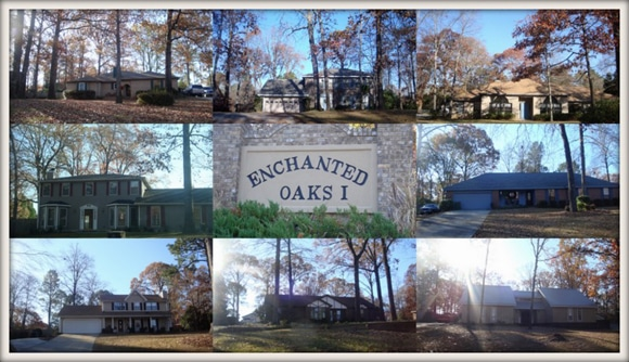 Enchanted Oaks Subdivision in Bonaire GA 31005
