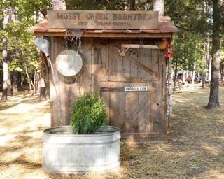 The Mossy Creek Barnyard Festival in Perry GA