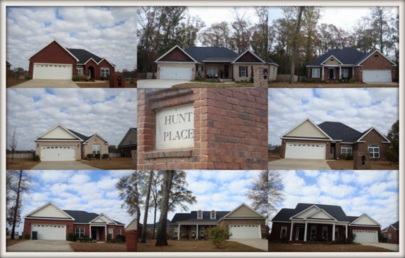 Hunt Place Subdivision in Kathleen GA 31047