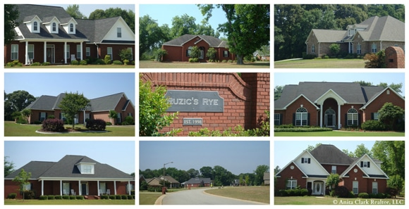Subdivisions in Kathleen GA 31047 - Ruzic's Rye Subdivision