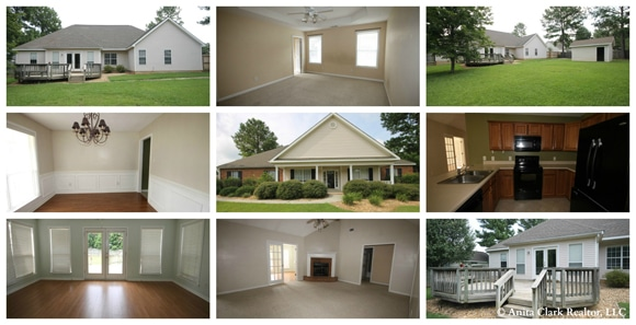 Home for Sale in Warner Robins GA, Hawthorne Subdivision