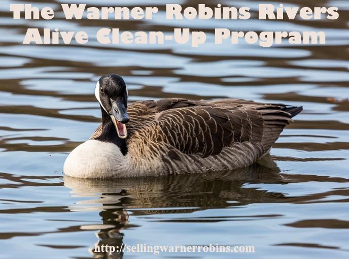 Warner Robins Rivers Alive Clean-Up Program