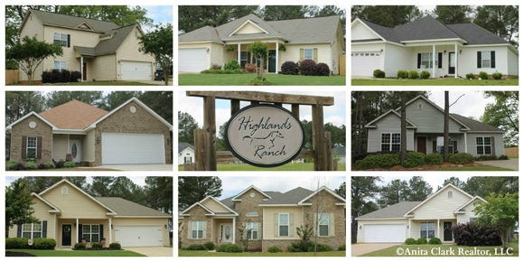Highlands Ranch Subdivision in Perry GA 31069