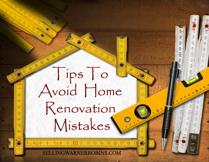 Tips To Avoid Home Renovation Mistakes