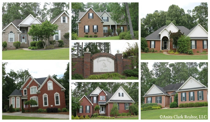 Country Club Downs Subdivision in Perry GA 31069
