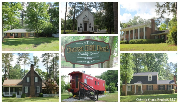 Forest Hills Subdivision in Perry GA 31069