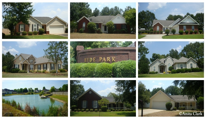 Hyde Park Subdivision in Warner Robins GA 31093