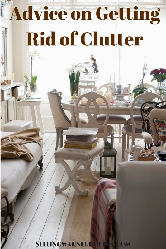Advice on Getting Rid of Clutter