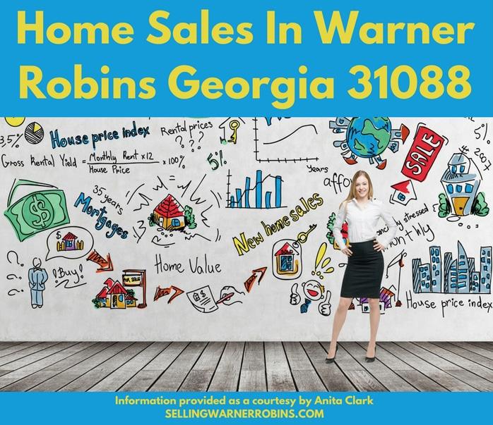 Home Sales in Warner Robins Georgia 31088
