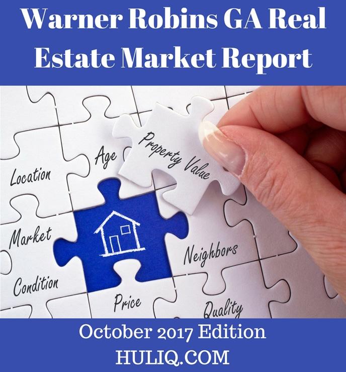 Warner Robins GA Real Estate Market Report - October 2017 Edition