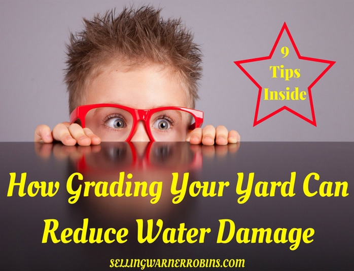 How Grading Your Yard Can Reduce Water Damage