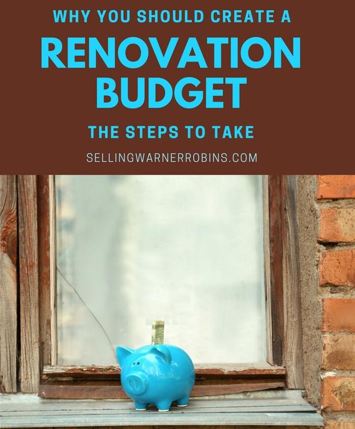 Why You Should Create A Renovation Budget