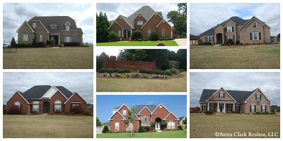 Magnolia Hills Subdivision in Kathleen GA 31047
