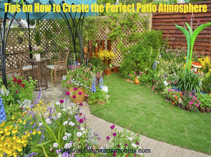 How to Create the Perfect Patio Atmosphere