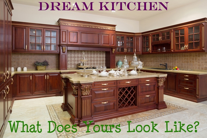 Luxury Home Dream Kitchen