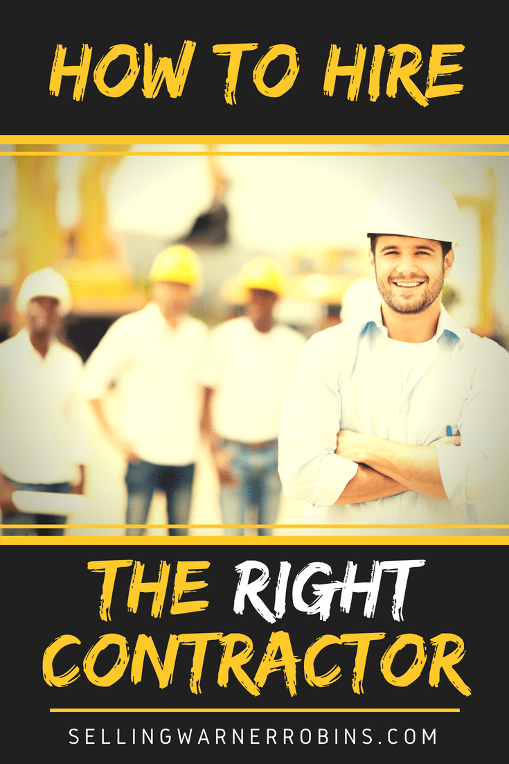 How to Hire the Right Contractor