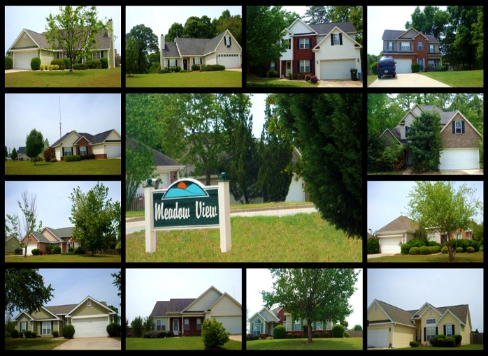 Meadow View Subdivision in Warner Robins GA 31088