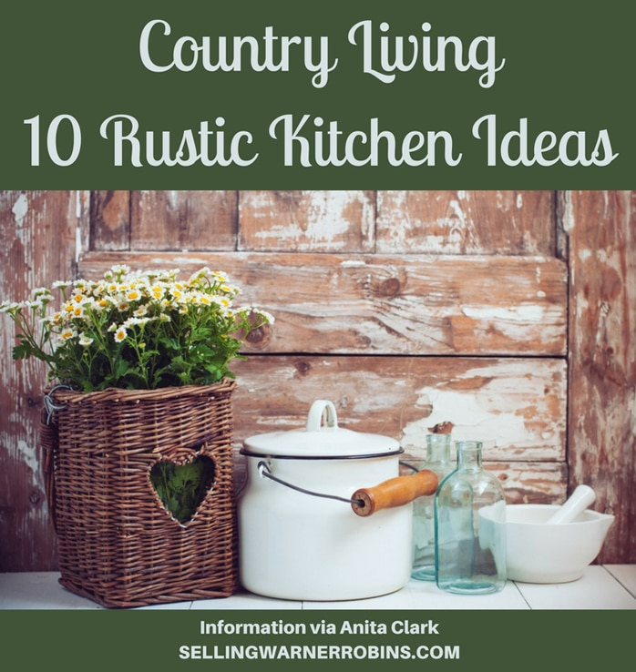 Country Living - 10 Rustic Kitchen Ideas
