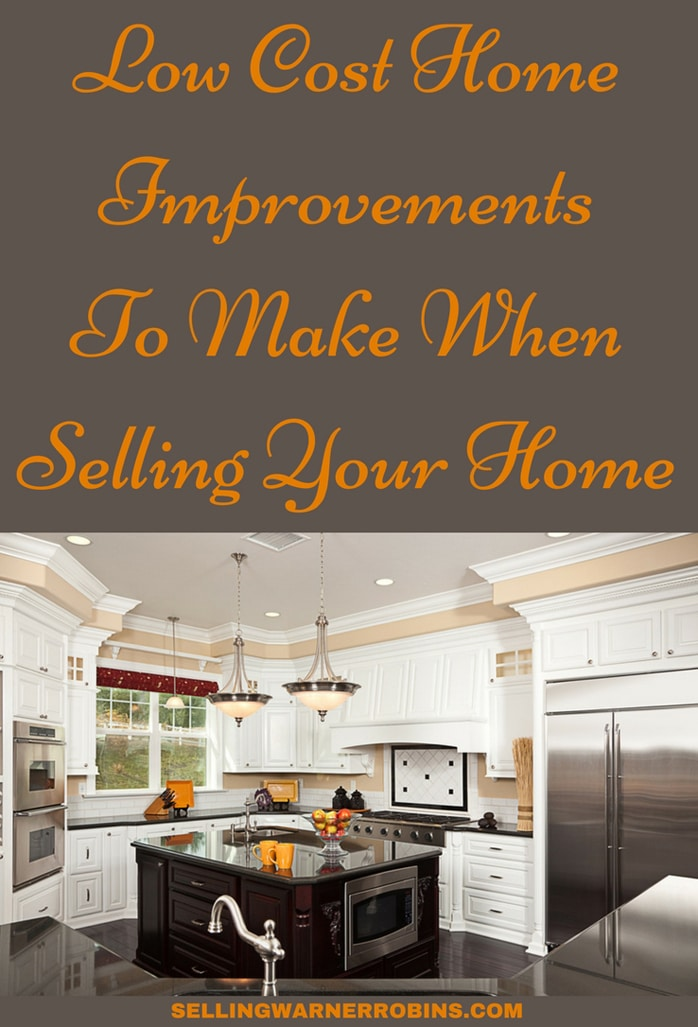 Low Cost Home Improvements To Make When Selling Your House