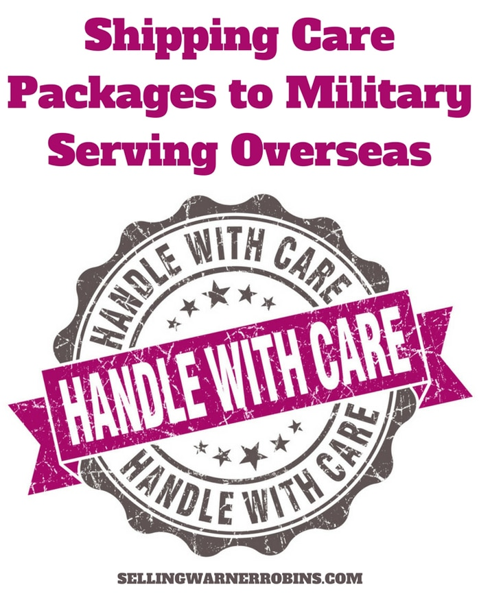 Shipping Care Packages to Military Serving Overseas