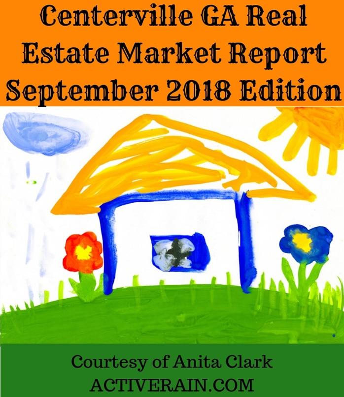 Centerville GA Real Estate Market Report - September 2018 Edition