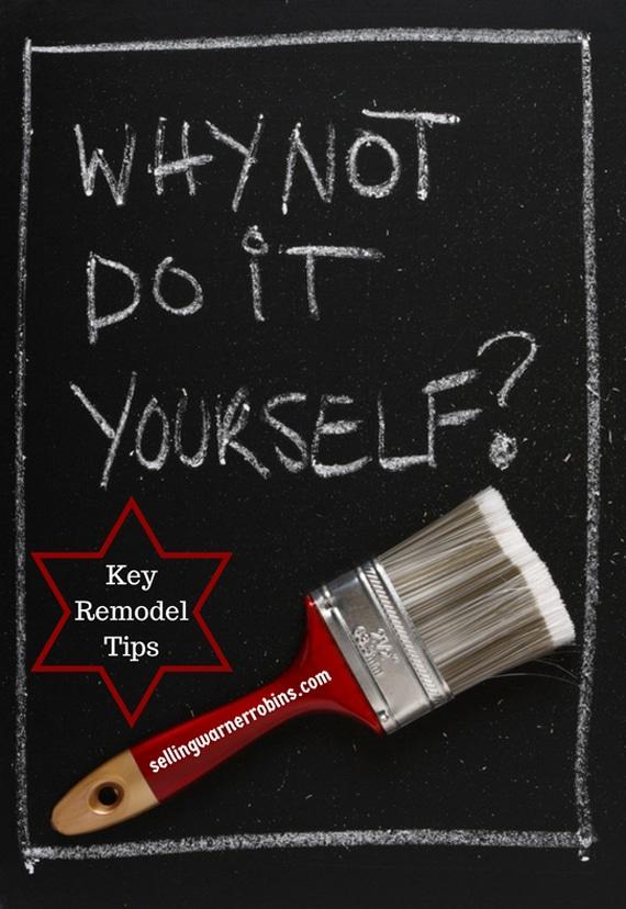 Key Remodel Tips
