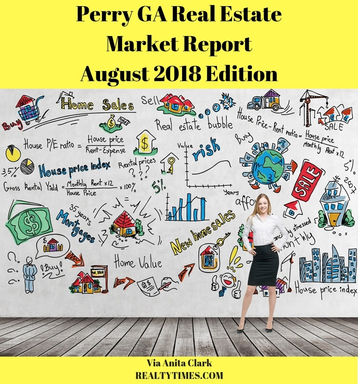 Perry GA Real Estate Market Report - August 2018 Edition