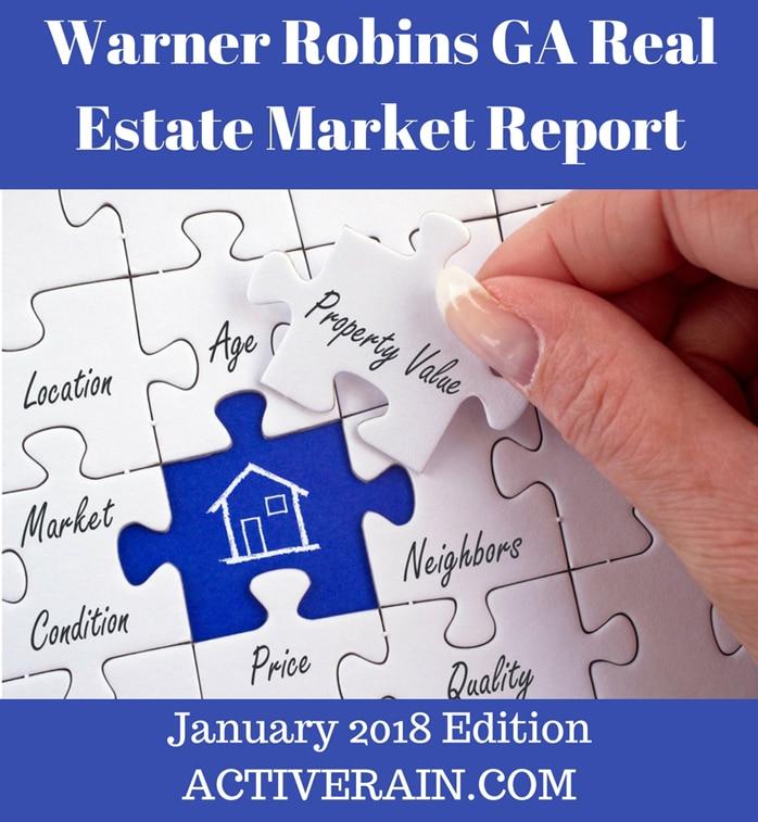 Warner Robins GA Real Estate Market Report - January 2018 Edition