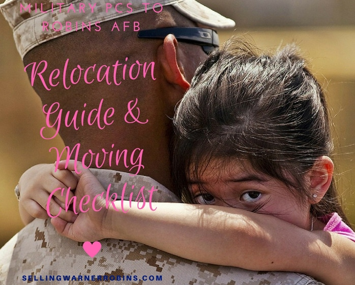 Military PCS to Robins AFB - Your Relocation Guide and Moving Checklist