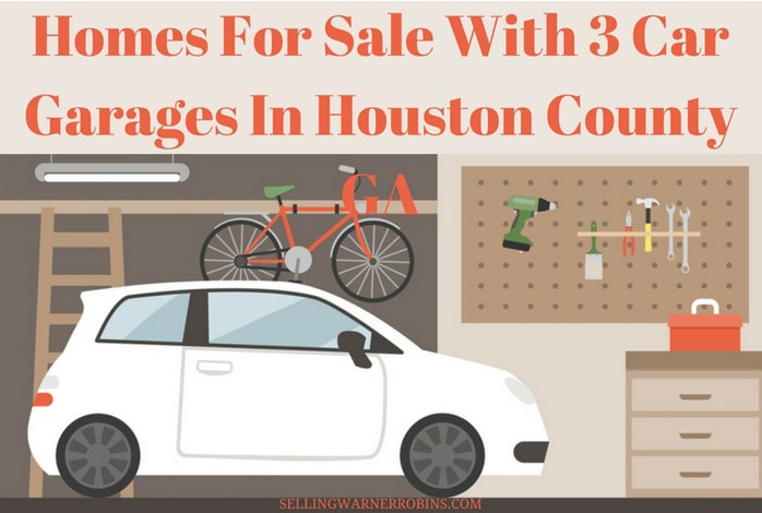 Homes For Sale With 3 Car Garages In Houston County Ga
