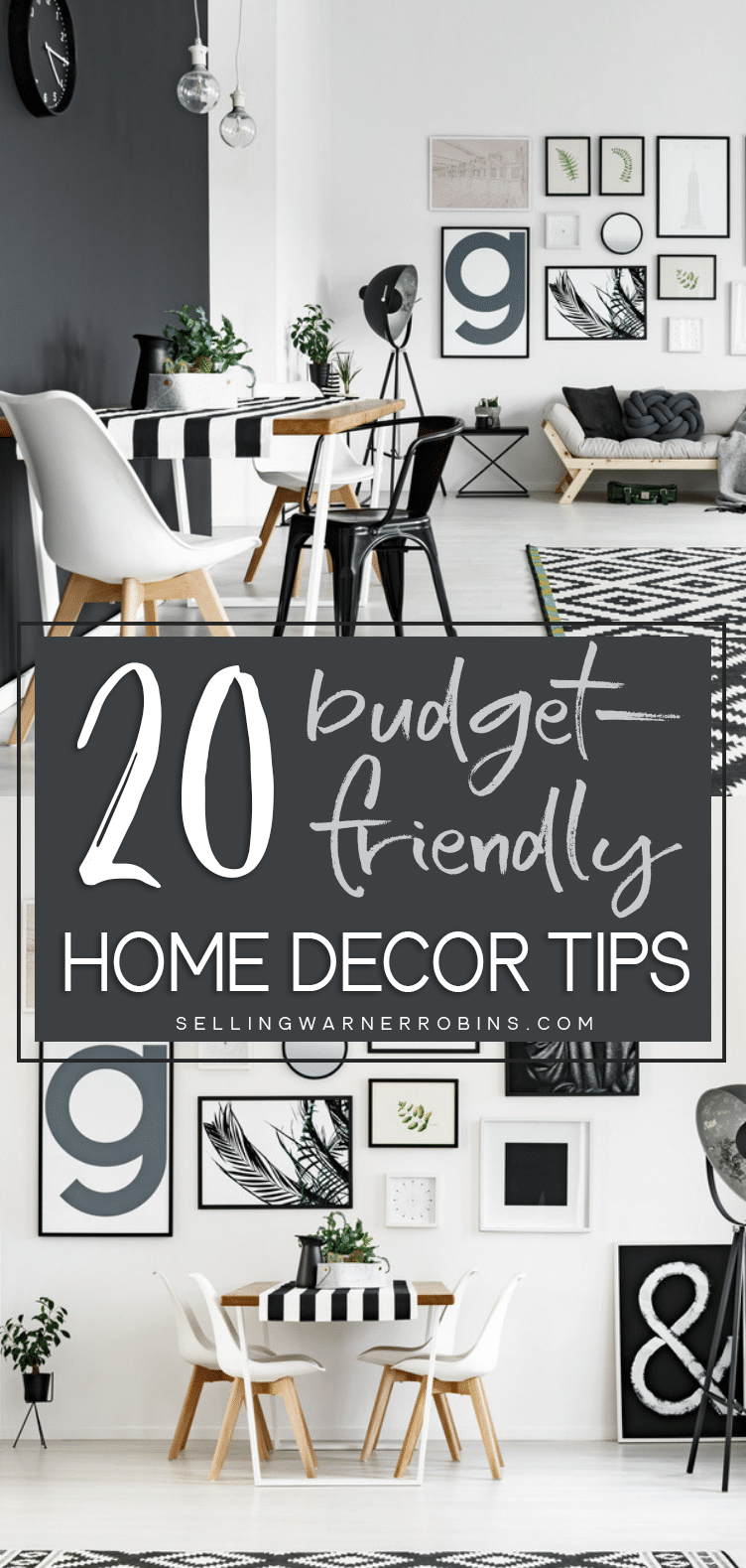 20 Ways To Save Money When Decorating Your Home