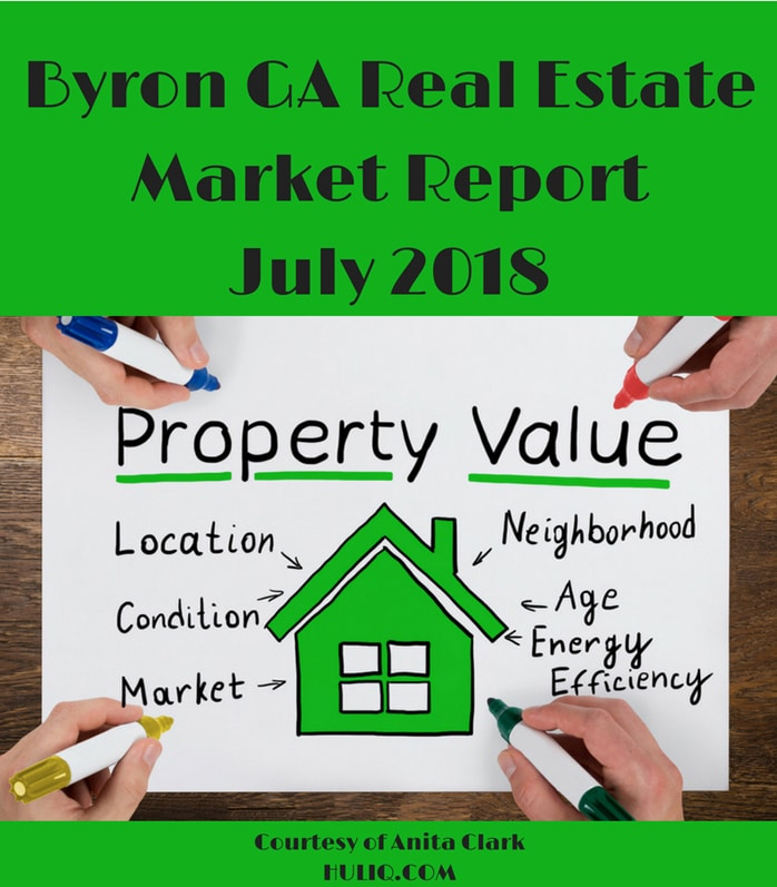Byron GA Real Estate Market Report - July 2018 Edition
