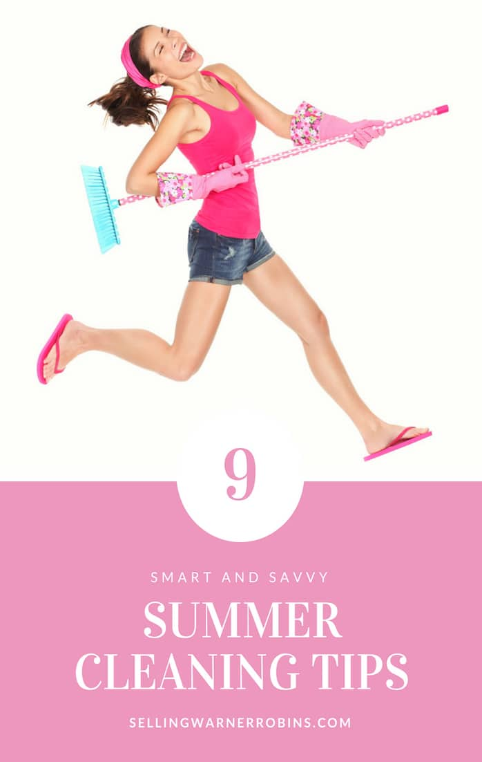 Smart Summer Cleaning Tips