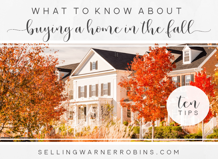Purchase a Home in the Fall